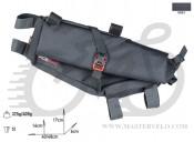 Сумка на раму Acepac ROLL FRAME BAG M серый, BIB-35-02
