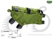 Сумка на раму Acepac ROLL FRAME BAG L зеленый, BIB-69-76