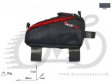 Сумка на раму Acepac FUEL BAG M серая, BIB-32-40