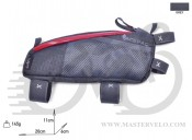 Сумка на раму Acepac FUEL BAG L серая, BIB-36-48