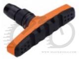 Колодки тормозные резьбовые ALHONGA HJ EN02-OR оранжево-черные BRS-20-24