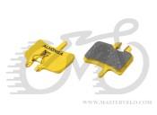 Колодки дисковые ALHONGA HJ-DS01 Hayes совместимые для механических и гидравлических тормозов organic black