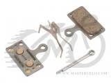 Тормозные колодки Shimano  G04TI для BR-M9000/987/785. МЕТАЛ Y8LW98010