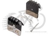 Тормозные колодки Shimano H03C+радиатор для BR-M820 МЕТАЛ Y8VT98020