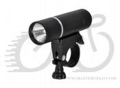 Фонарь передний LONGUS 3W LED, 3ф-ции черн 398553