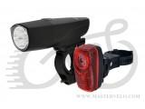 Комплект Longus Свет передний 1W LED + задний 0,5W+2LED 398404