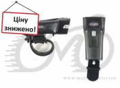 Фонарь передний Author A-Vision 300 lm USB, black