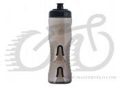 Фляга 0,75 Fabric CAGELESS дымчатая с черным