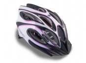 Шлем AUTHOR Skiff  144 черный/белый/пурпурный,  58-62 cm
