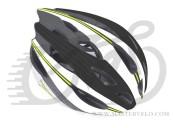 Шлем AUTHOR Rocca, зелено/черно/белый, размер 58-62 cm