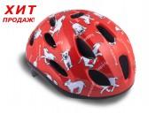 Шлем Author  Floppy 141, красный , размер 48-54 cm