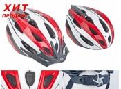 Шлем Author  Rocca, красно/белый, размер 58-62 cm