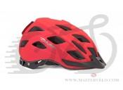 Шлем Author Pulse LED X8, размер 58-61 см, цвет: неоново красный, 9001657