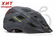 Шлем Author Pulse LED X8, 52-58см,темно серый 9001660