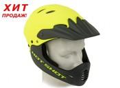 Шлем Author Hot Shot HST X9, 56-58см,неон жёлт/чёрн 9110389