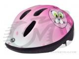 Шлем детский Longus  FUNN 2.0 Pink Cat розовый, разм 48-54см 281