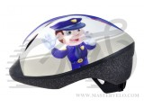 Шлем детский Longus FUNN 2.0 Police Man, размер 48-54см 201