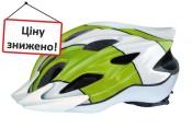 Шлем Longus LYRA PLUS 2xInMold, 58-62см, бело-синий