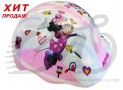 """Шлем детский Disney Bellelli """"MINNIE"""", размер 44-48 см"""