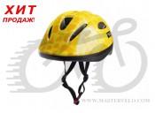 Шлем детский Green Cycle FLASH размер 50-54 см желтый лак HEL-82-53