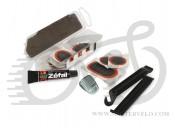 Ремкомплект клей, латки Zefal Repair Kit Universal (1122) c бортировочными лопатками