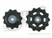 Ролики переключателя SHIMANO RD-2300, Claris, 11т/13т, комплект: нижний + верхний, Y5XA98040, 7-8ск