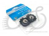 Ролики переключателя SHIMANO RD-5800, 11т/11т, комплект: нижний + верхний, Y5YE98080, 11ск