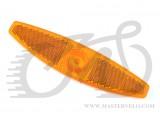 Отражатель X17 на колесо, 13.5*3.0см, 1шт., оранжевый